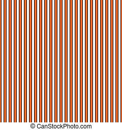 naranja, blanco, negro, raya, y