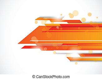 naranja color, resumen, tecnología, plano de fondo