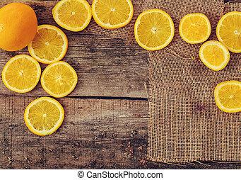 naranja, delicioso