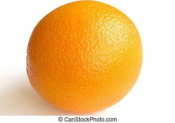 naranja, fresco, delicioso