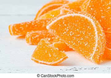 naranja, marmelad, tabla, naranjas, slided
