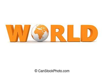 naranja, mundo