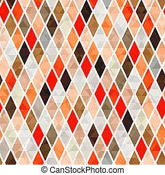 naranja, patrón, seamless, plano de fondo