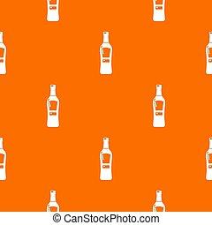 naranja, patrón, whisky americano
