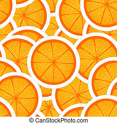 naranja, seamless, plano de fondo
