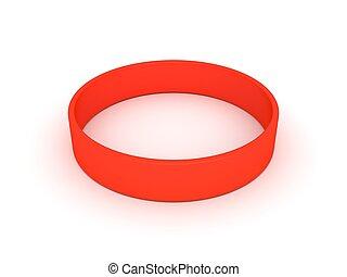 naranja, wristband