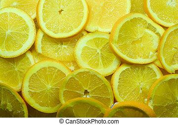 naranjas, circular