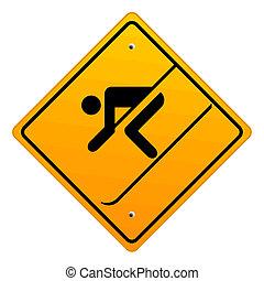 narciarstwo, znak