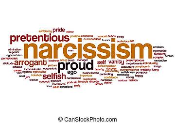 Narcissism word cloud