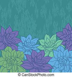 narcissus, fundo, flores