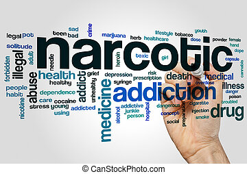 Narcotic word cloud