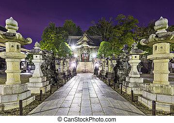 Narita Shrine in Narita, Japan.