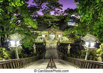 Narita Shrine in Narita, Japan founded in 940 A.D.