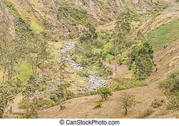 Nariz del Diablo Trip Landscape Scene
