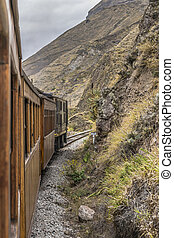 nariz,  train,  del,  diablo,  alausi, Voyage, Équateur