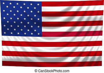 narodowa bandera, usa