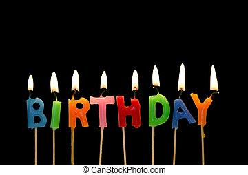 narozeniny, karafiát