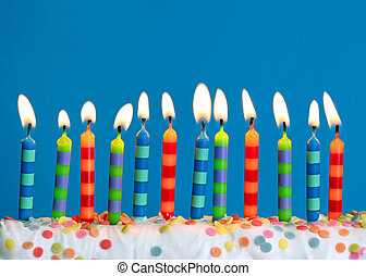 narozeniny svíčka