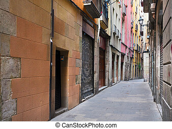 Gotic quarter of Barcelona