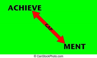 Narrowing the Gap-green screen - Narrowing the Achievement...