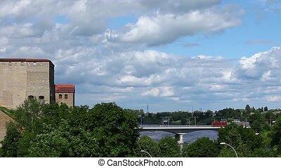 Narva castle panorama