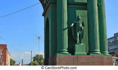 Narva Triumphal Gate, Saint Petersburg - The Narva Triumphal...