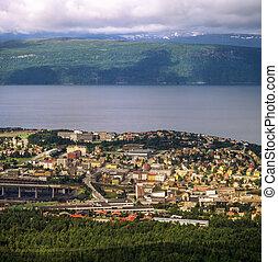 View of Narvik , Norway