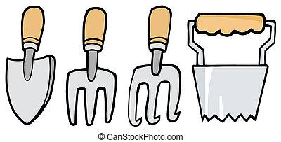 narzędzia, ogrodnictwo