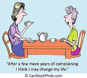narzekanie, lata