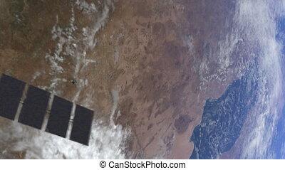 NASA calipso 01 - Satellite over earth