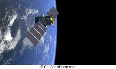NASA calipso 03 - Satellite over earth