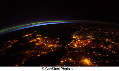 NASA earth - Created with Public Domain images from Nasa ...