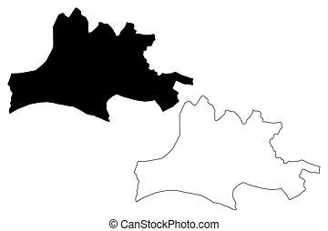 Nasarawa State map