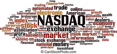 NASDAQ word cloud