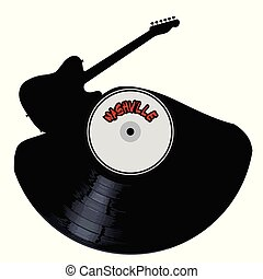 Nashville Country Music Silhouette Record