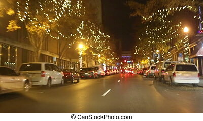 Nashville Holiday Ride - A night ride through Nashville