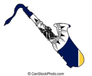 Nashville Jazz Flag