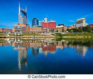 Nashville Tennessee - Nashville, Tennessee downtown skyline...