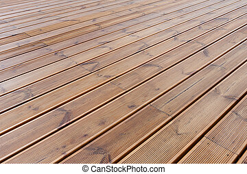 Fußboden Terrasse ~ Brauner holz terrasse fußboden naßmachen. brauner boden holz