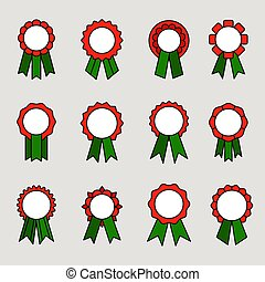 nastri, premio, medaglie