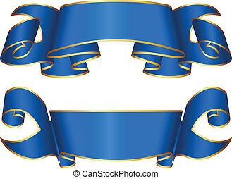 nastro blu, collezione