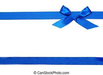 nastro blu, e, arco