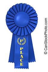 nastro blu, per, primo posto