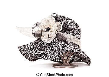 nastro, fiore, cappello