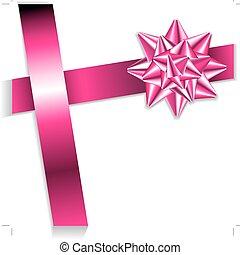 nastro rosa, arco