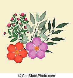 nasturtium leaves decorative image