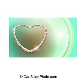 naszyjnik, perły
