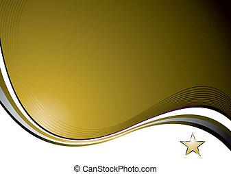 Nat gold wave