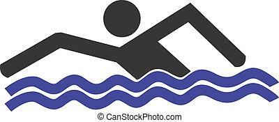 natação