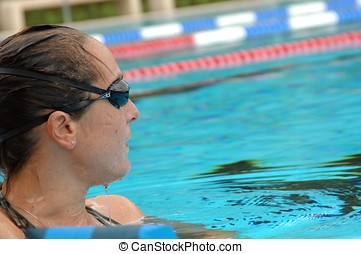 natação, treinamento